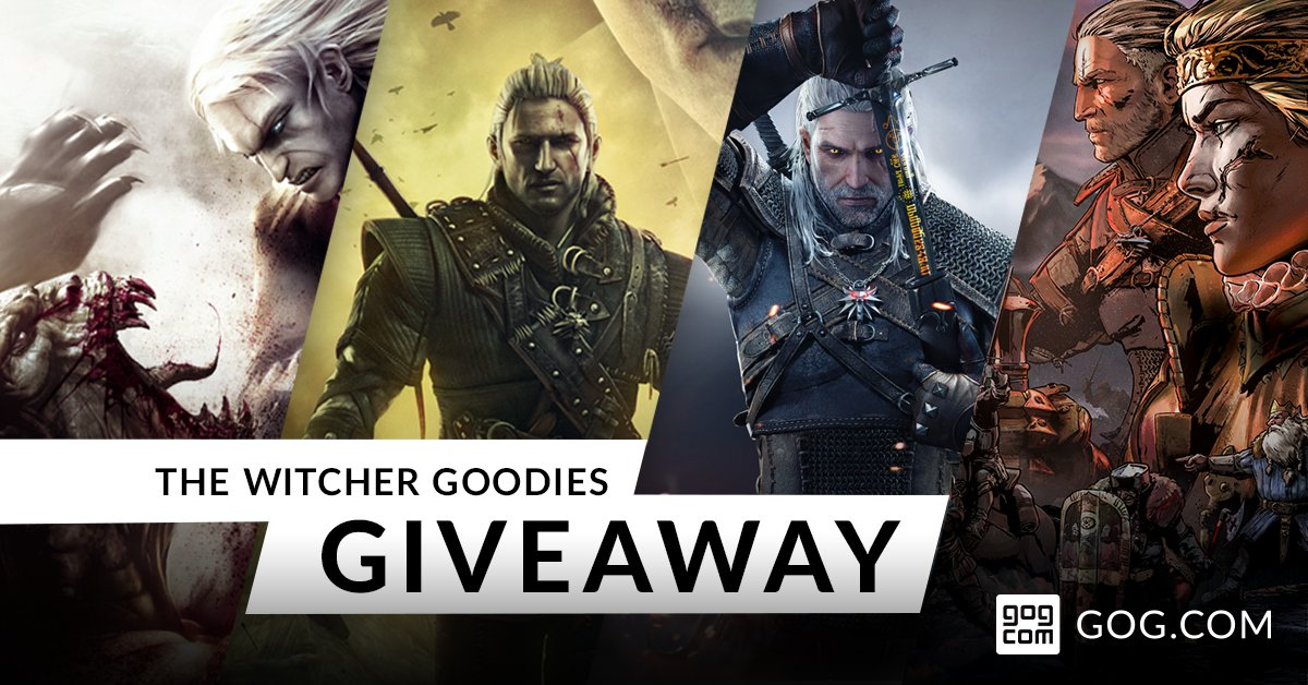 Få The Witcher Goodies Collection gratis hos GOG till 18 mars!