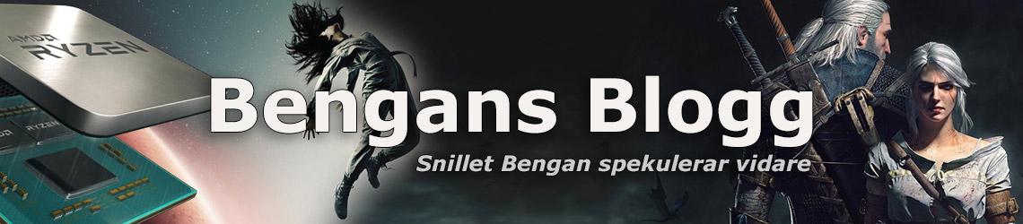 Bengans Blogg - Snillet Bengan spekulerar vidare