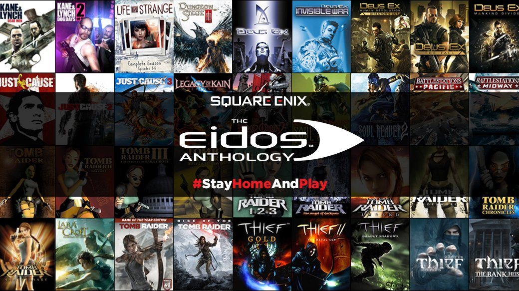 Square Enix Eidos Anthology – 95% rabatt på 54 spel!
