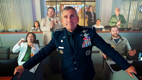 Space Force – Netflix komediserie med Steve Carell