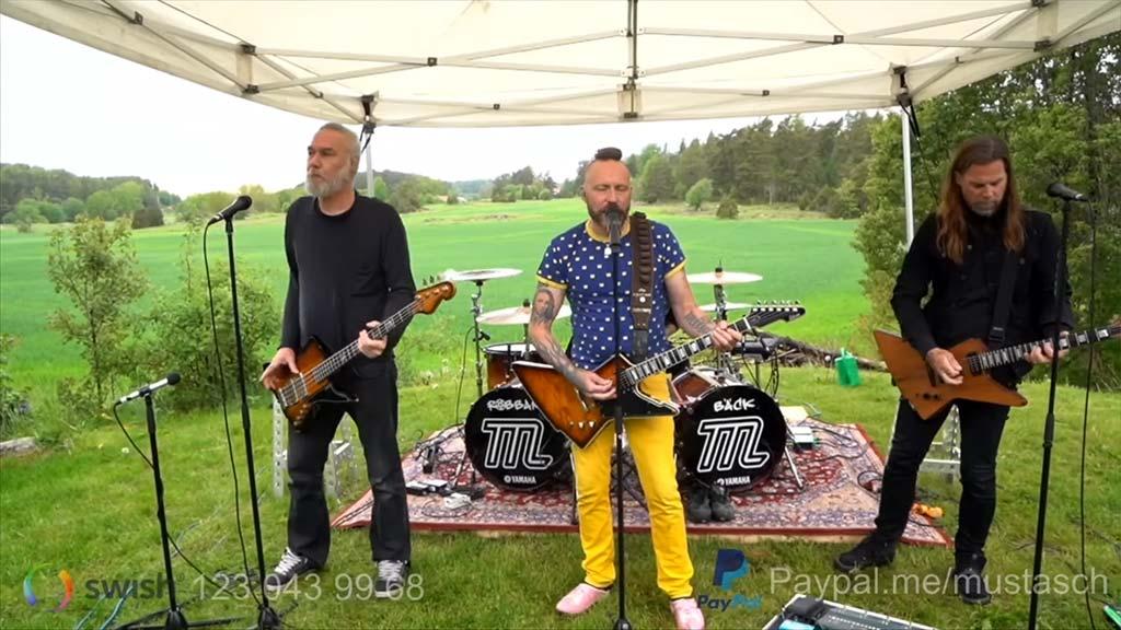 Mustasch Live Series Ep.1 Sveriges Nationaldag
