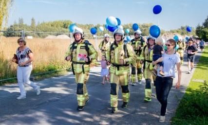 Nieuwsblad – Fortloop kleurt blauw voor Berrefonds