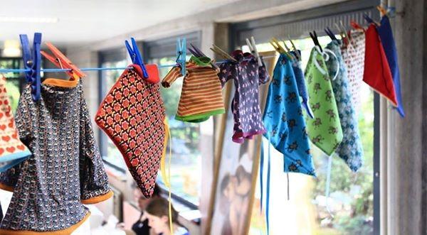 HLN – Hoe een naaimarathon steun biedt aan ouders