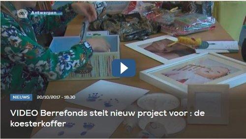 ATV – Berrefonds stelt nieuw project voor: de koesterkoffer
