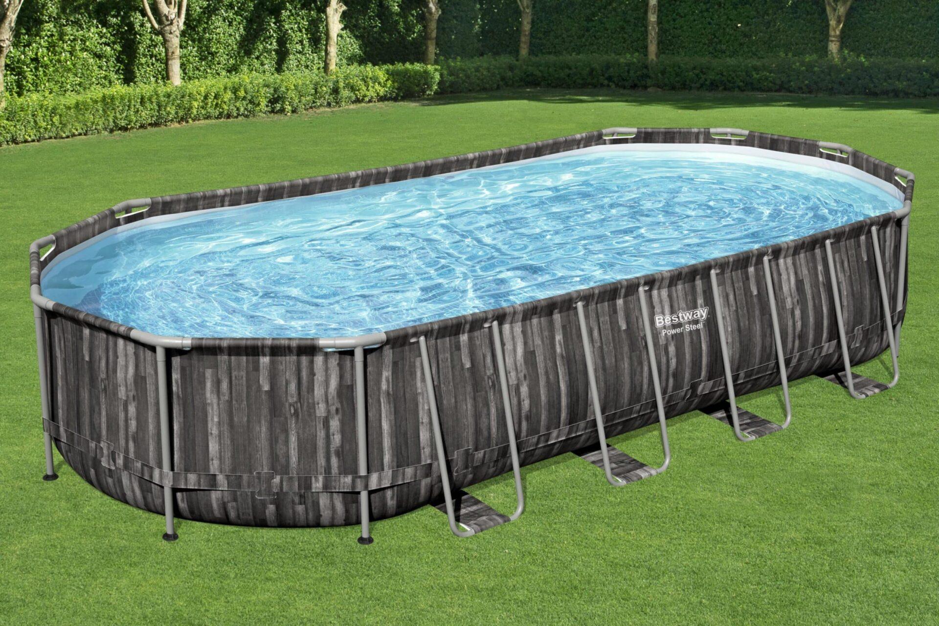 Billig svømmebasseng stor plass