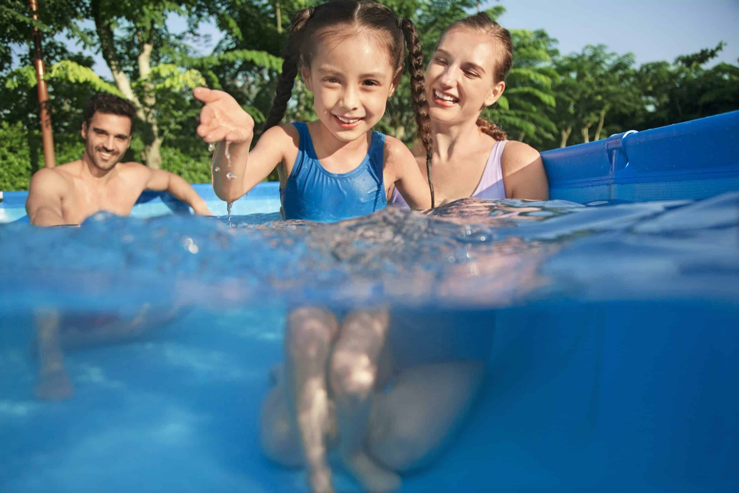 Rektangulært basseng bestway god pris barn