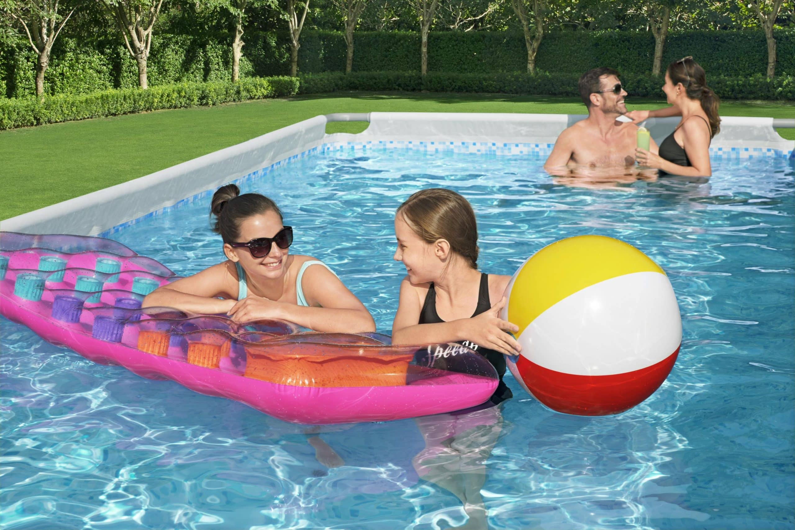 Bestway familie svømmeaktiviteter