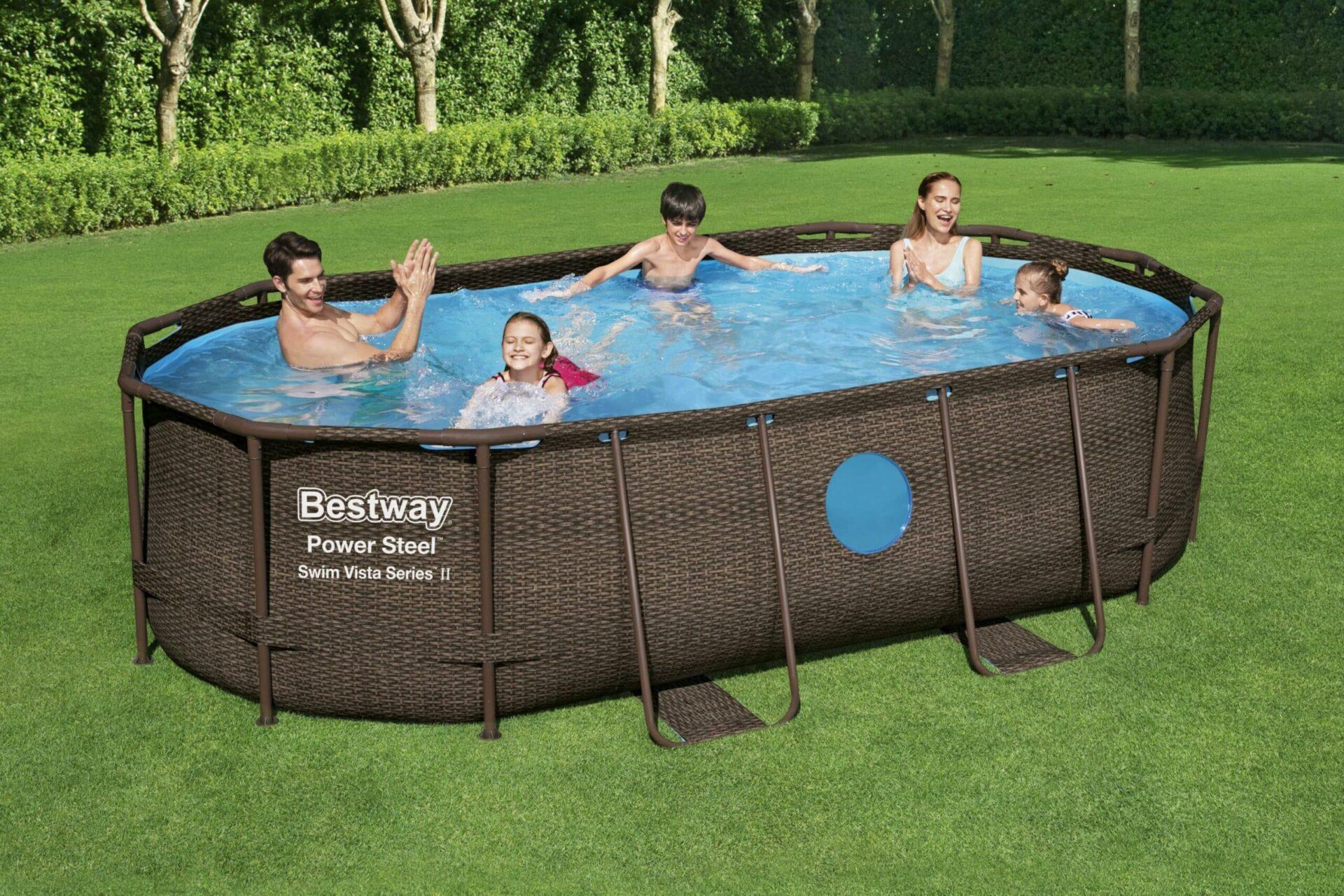 Ovalt Swim Vista R1 basseng til god pris