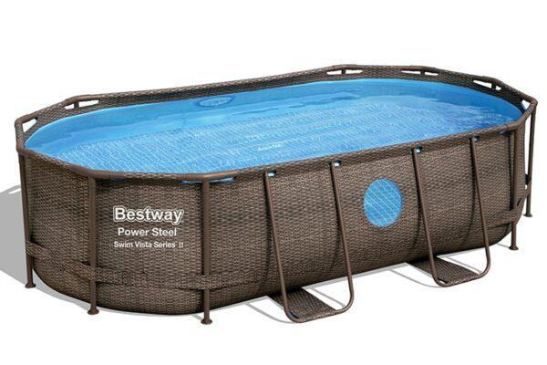 Ovalt Swim Vista R1 basseng til hele familien