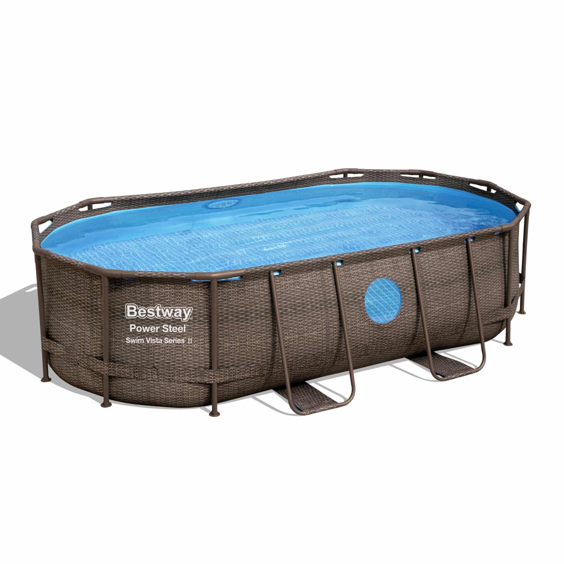 Ovalt Swim Vista R1 bassengsett bestway