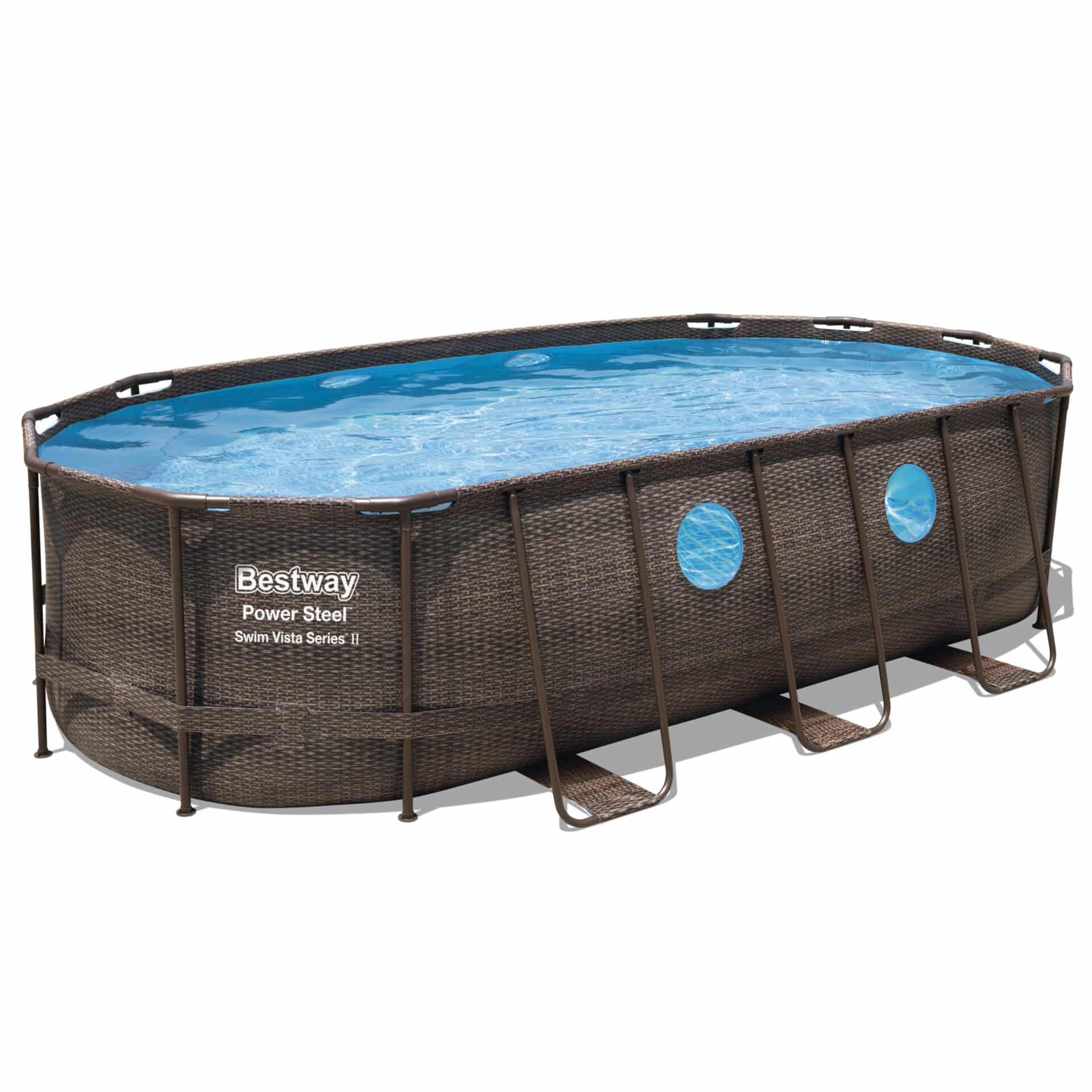 Ovalt Swim Vista R2 bassengsett