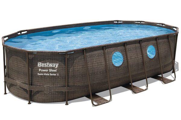 Ovalt Swim Vista R2 bassengsett bestway