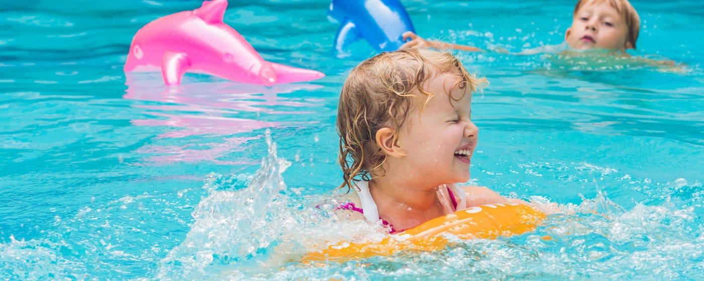 Ovalt Swim Vista R2 bassengsett til barn