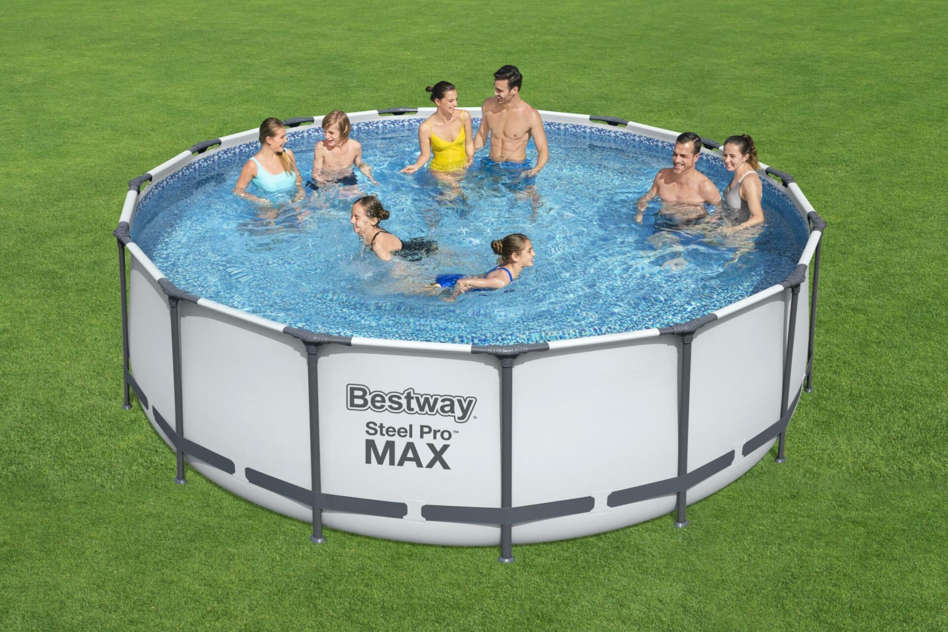 Rundt Steel Pro MAX™ Q2 basseng familie