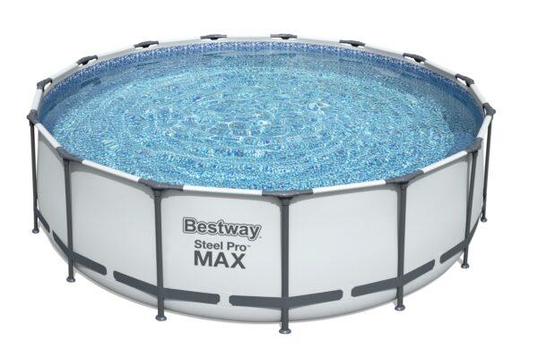Rundt Steel Pro MAX™ Q2 bassengsett