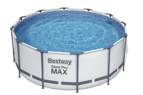 Rundt Steel Pro MAX™ R3 bassengsett bestway hagebasseng