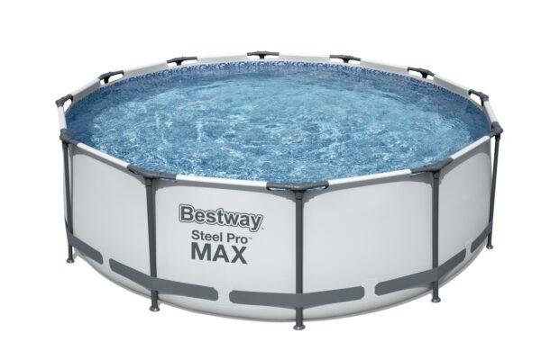 Rundt Steel Pro MAX R2 Bestway hagebasseng