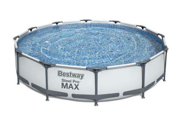 Rundt Steel Pro MAX M Bestway svømmebasseng