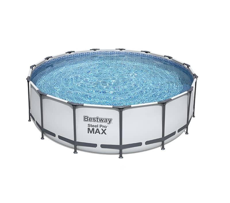Rundt Steel Pro MAX Q2 bassengsett