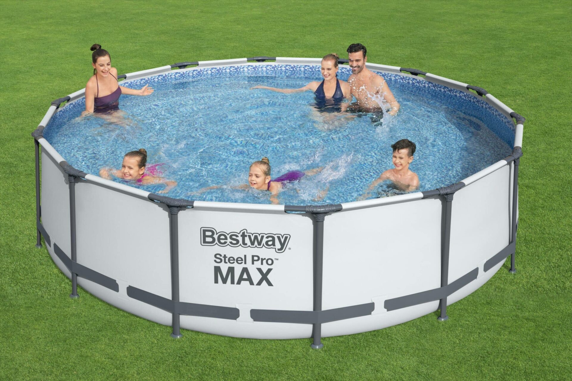 Rundt Steel Pro MAX Z1 svømmebasseng