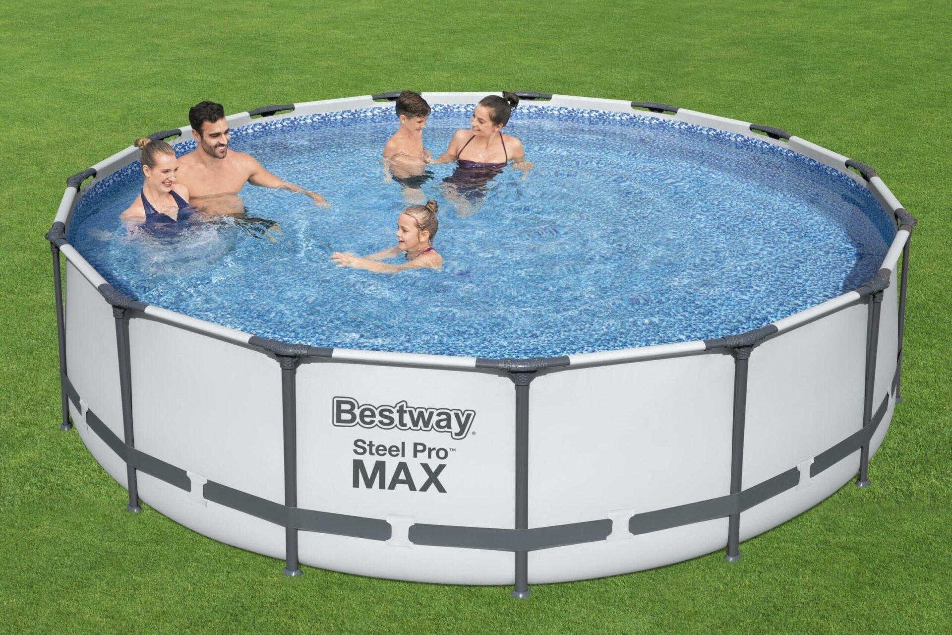 Rundt Steel Pro MAX Z2 svømmebasseng til en rimelig penge