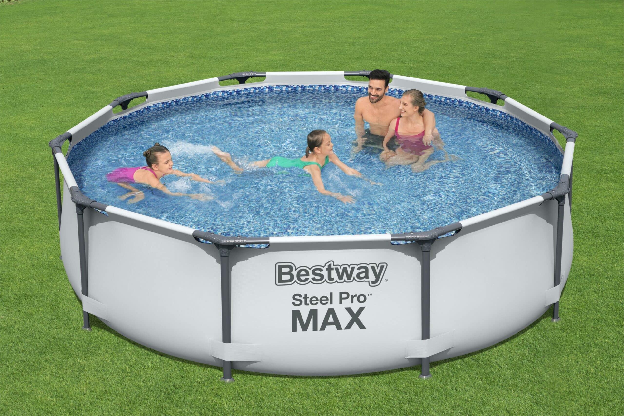 Rundt Steel Pro MAX basseng familie