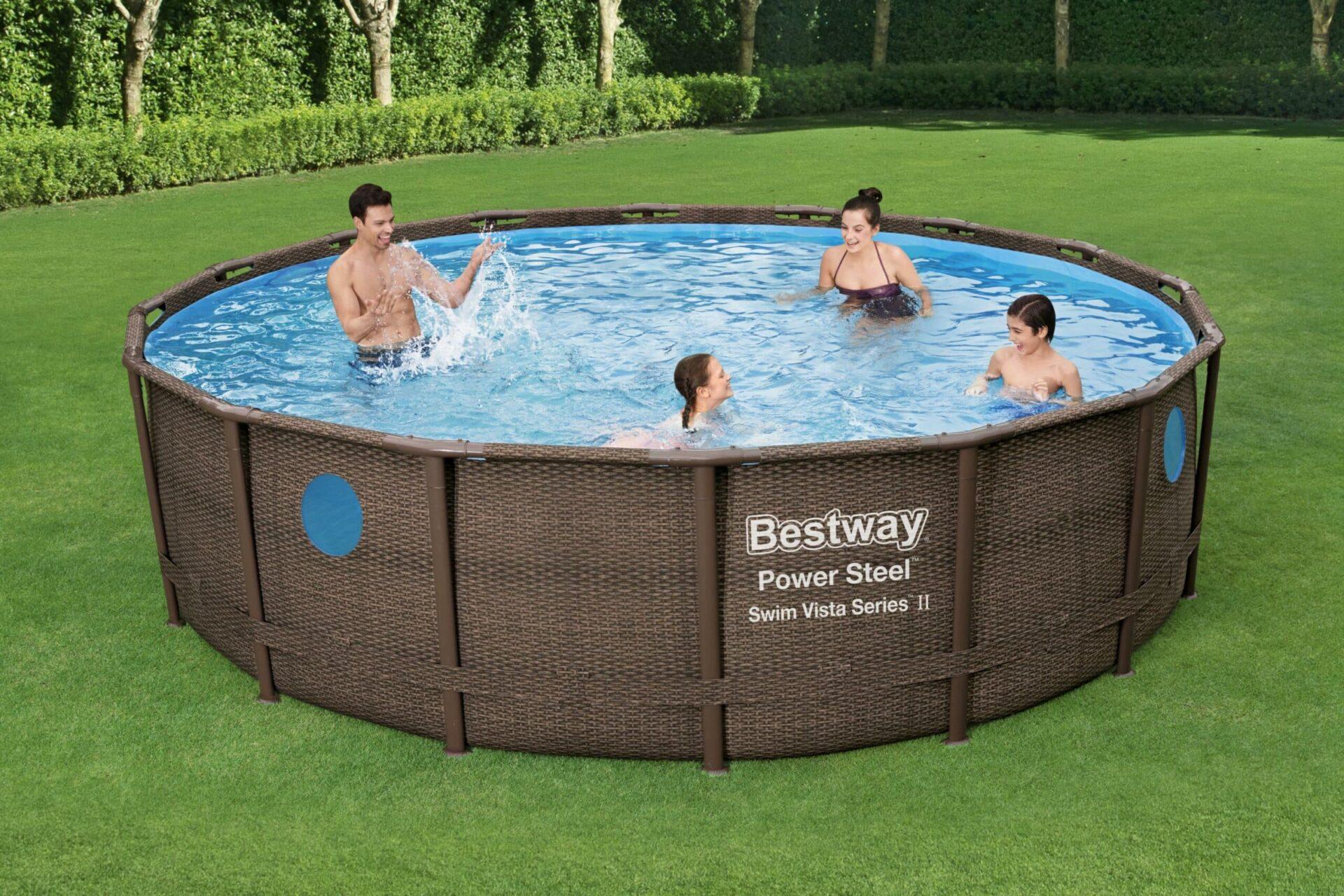 Rundt Swim Vista W1 basseng til familien