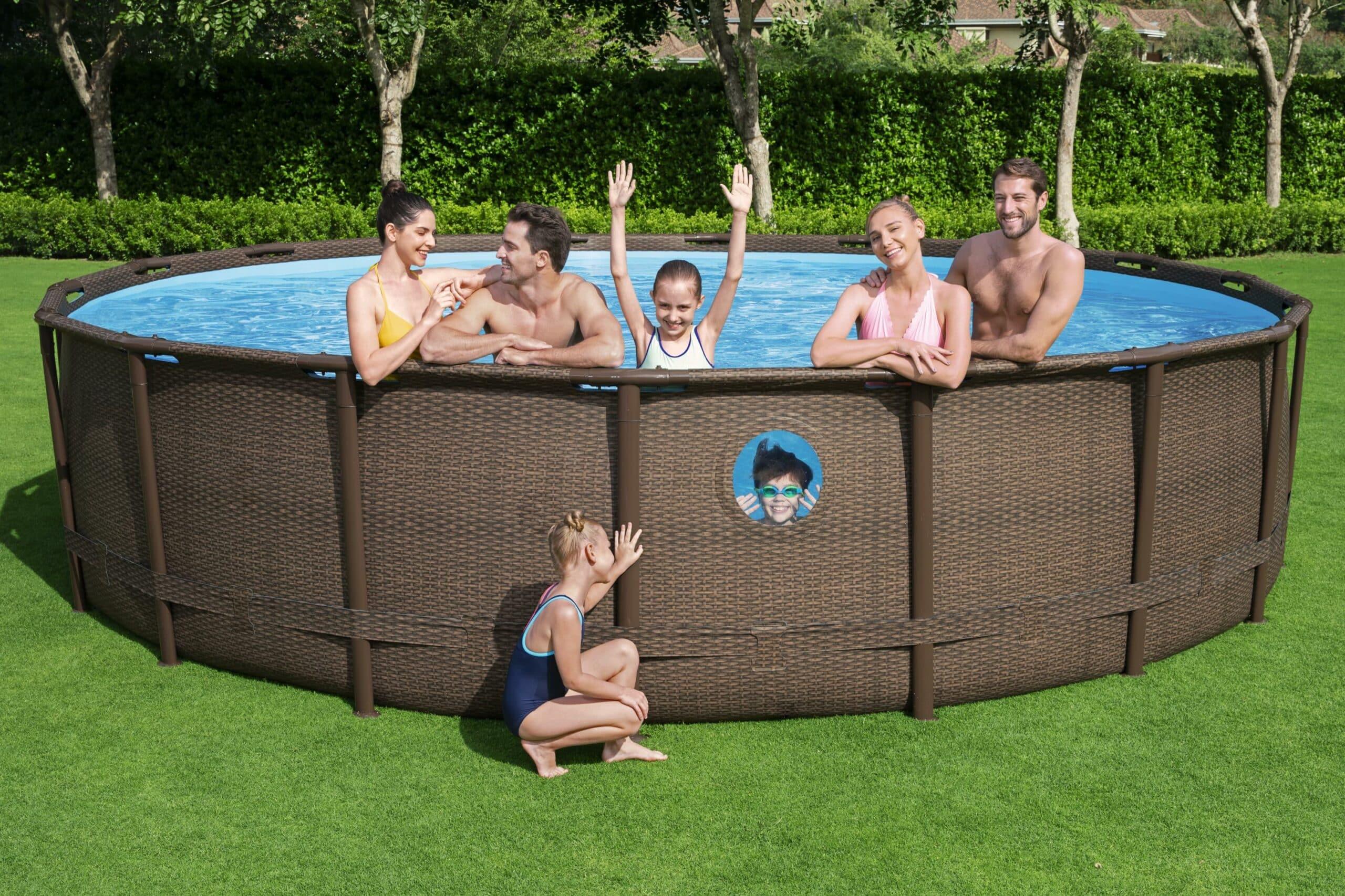 Rundt Swim Vista W1 familiebasseng