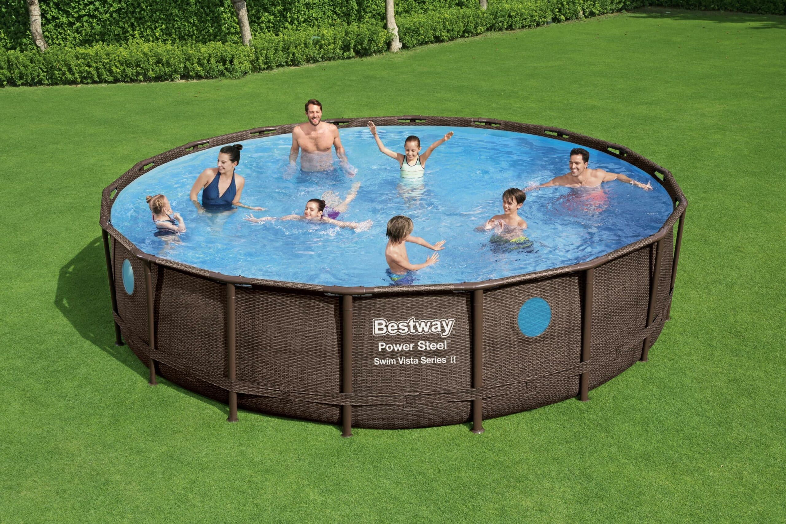 Rundt Swim Vista W2 basseng til familien