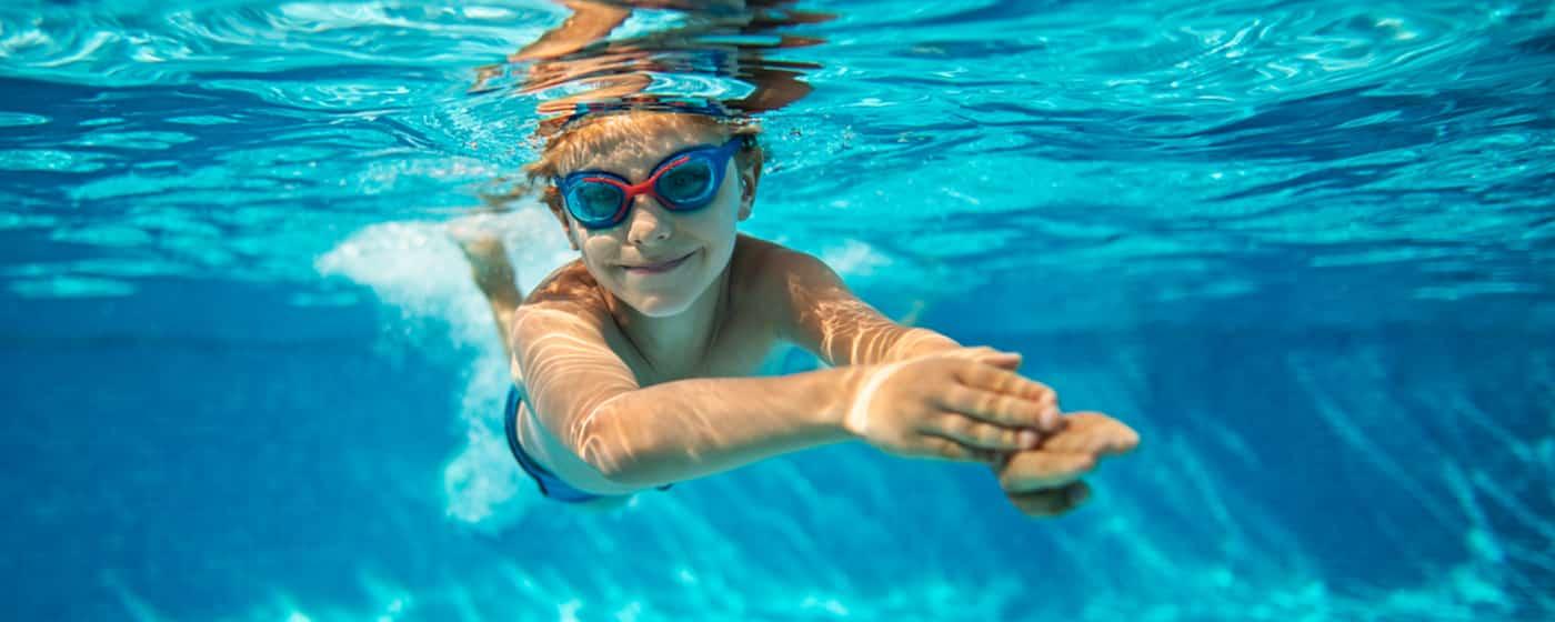 Rundt Swim Vista W2 bassengsett til barn