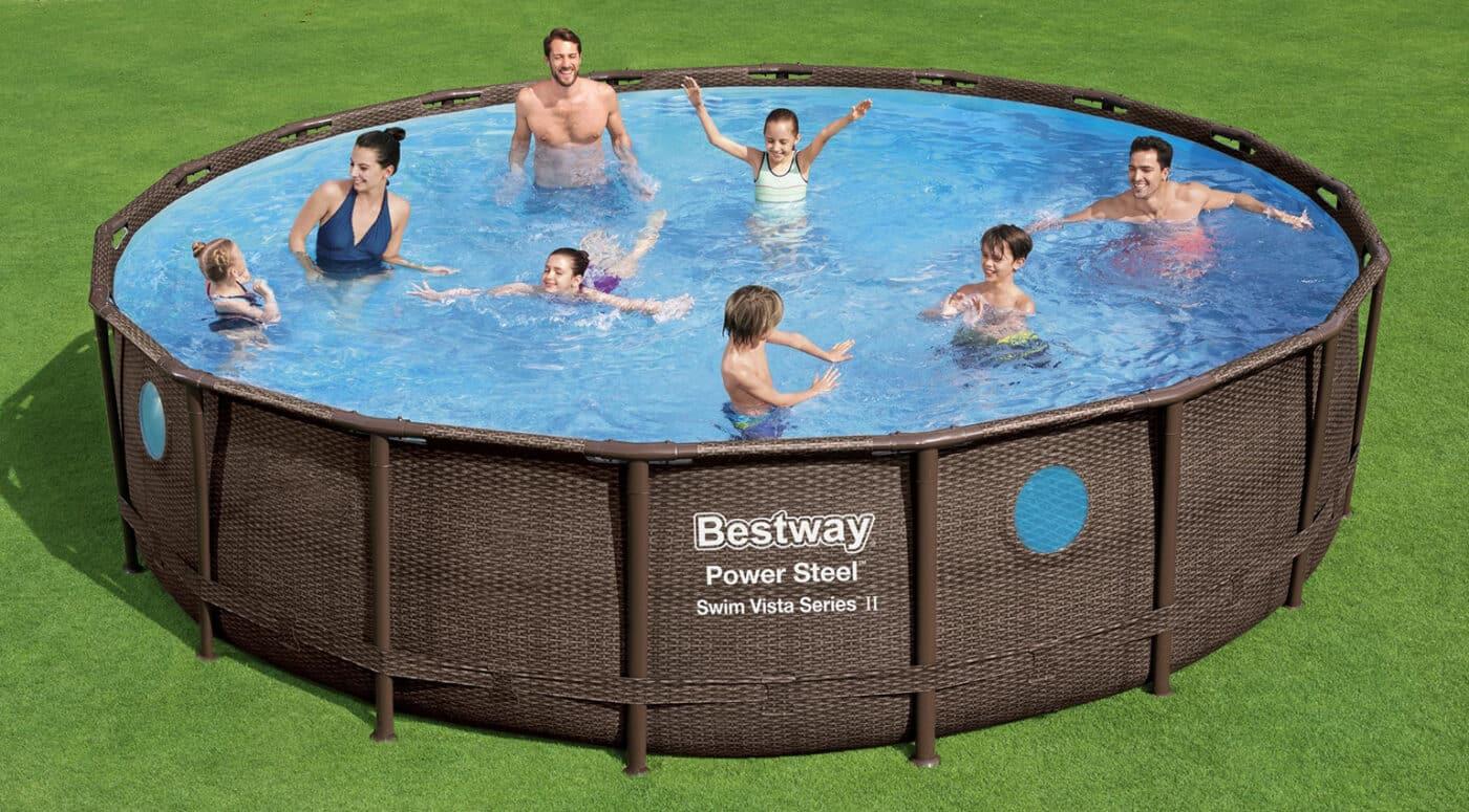 Rundt Swim Vista W2 bassengsett familie