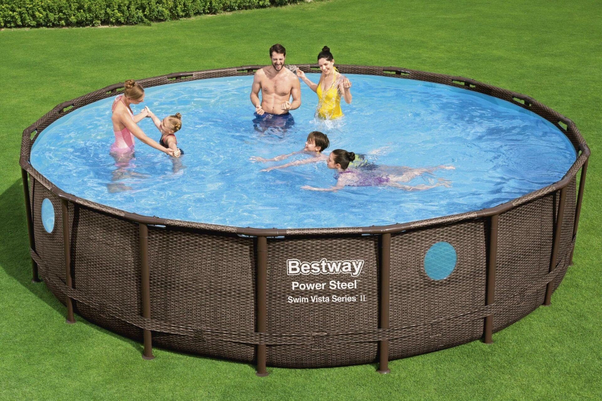 Rundt Swim Vista W2 bassengsett til familien