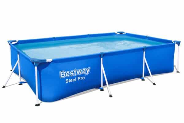 Rektangulært-basseng-Bestway-Steel-Pro