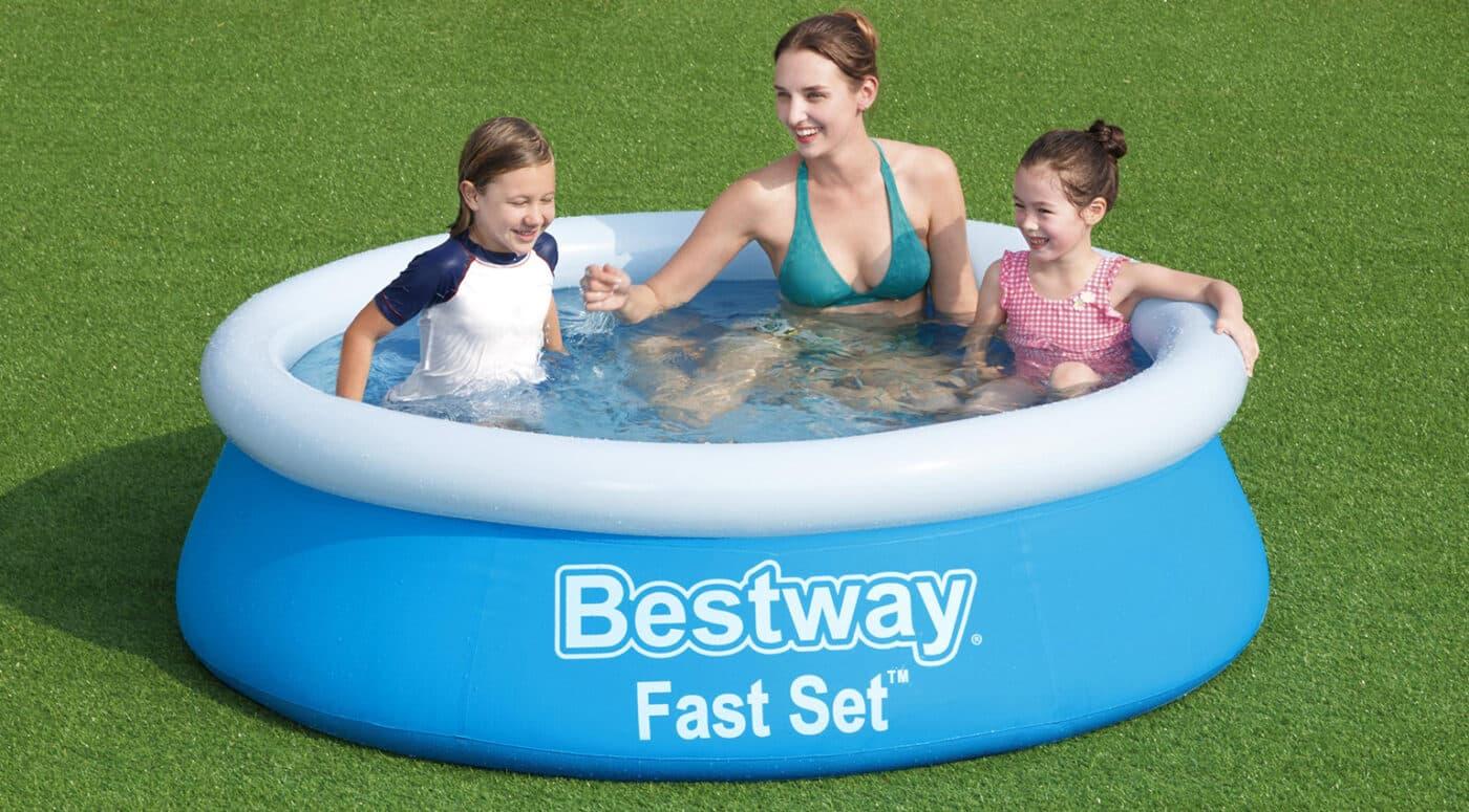 Rundt Bestway Fast barnebasseng til de minste