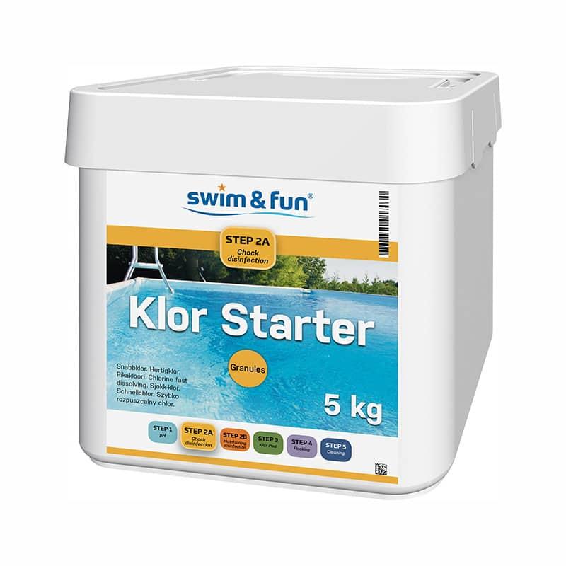 Klor Starter 5KG Swim & Fun