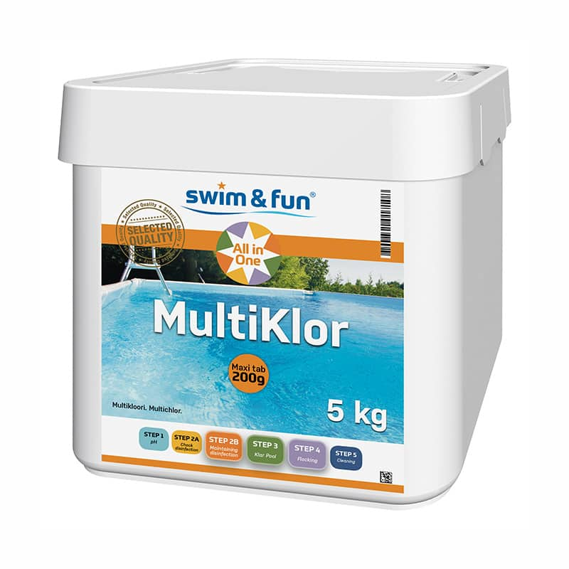 MultiKlor 200g Swim & Fun