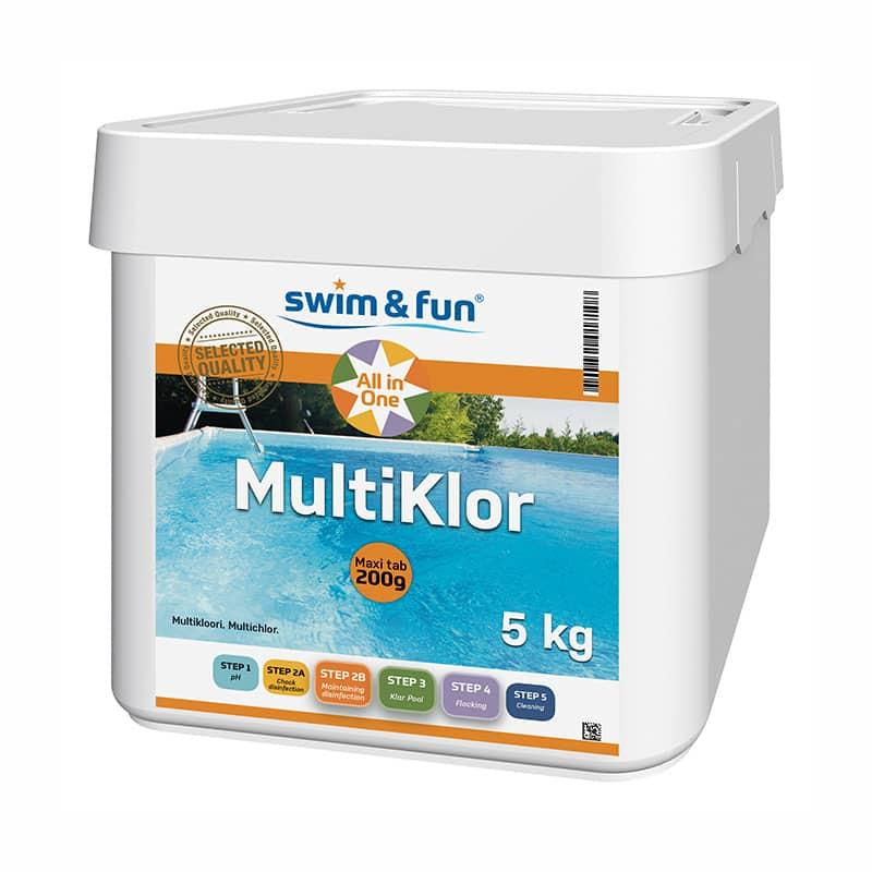 MultiKlor 200g Swim & Fun