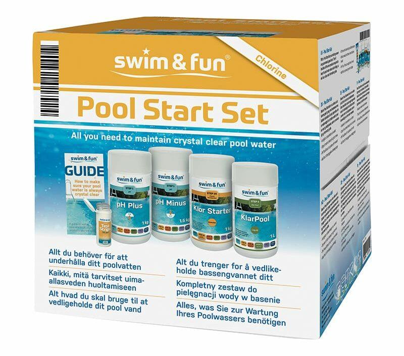 Startsett til basseng fra Swim & Fun