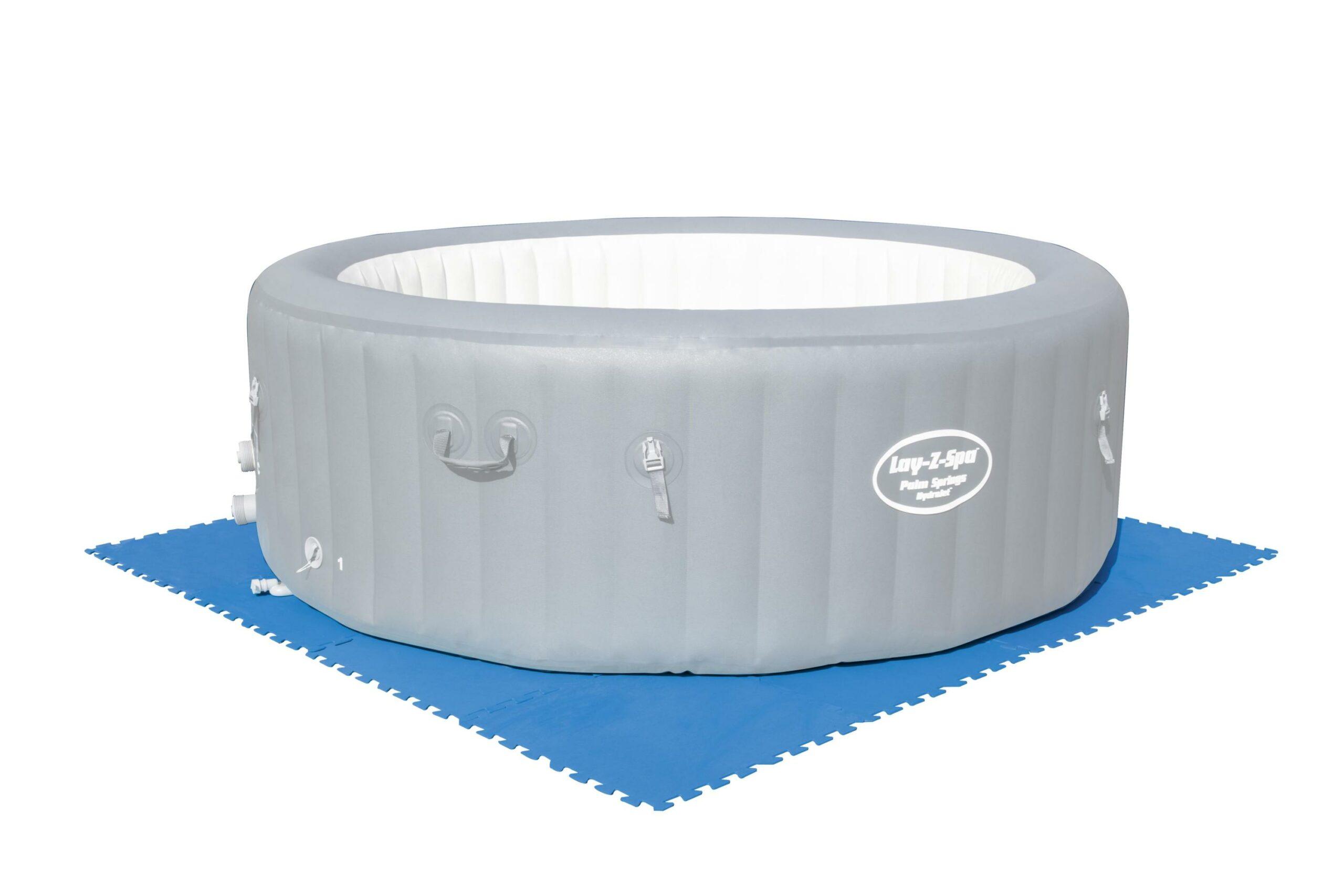 Bestway gulvbeskytter til hagebasseng (50cm x 50cm) spabad