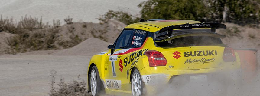 Djurs rally 2020 – DM finalen
