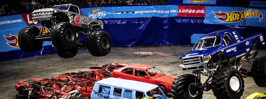 Hot Wheels Monster Trucks Live kommer til Danmark