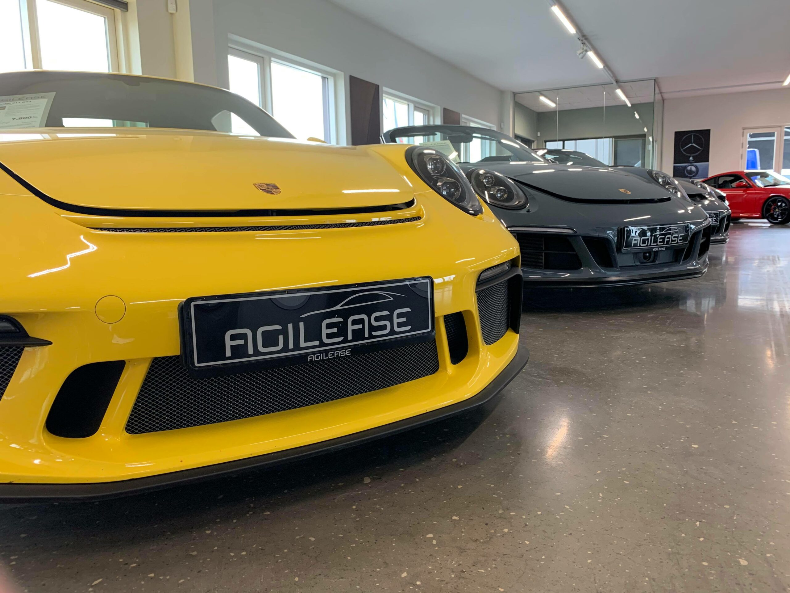 Cars & Coffee hos Agilease