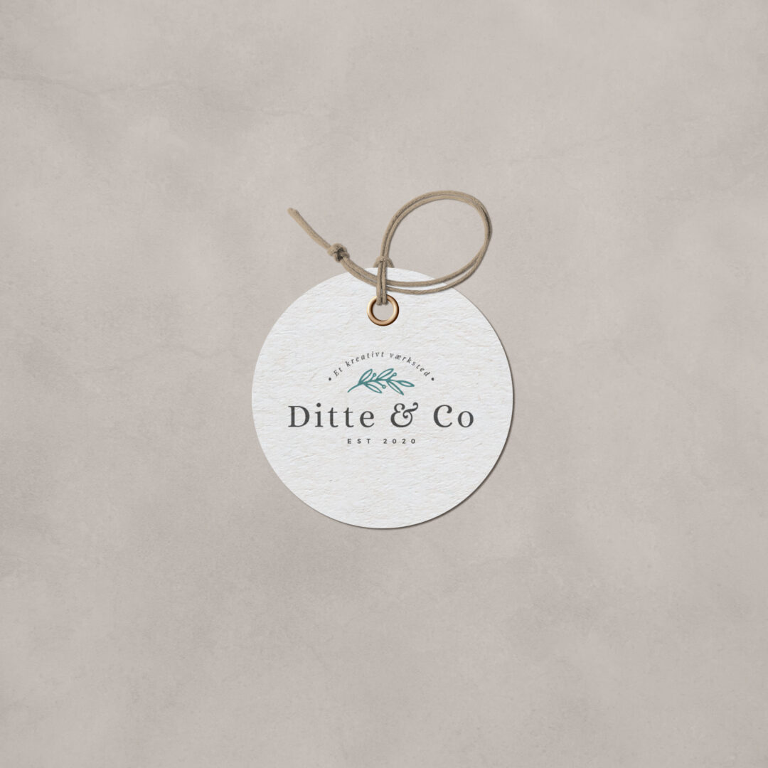 Ditte & Co – Logodesign