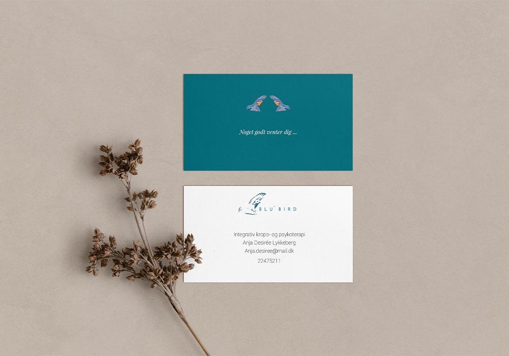 Blubird – Visitkortdesign