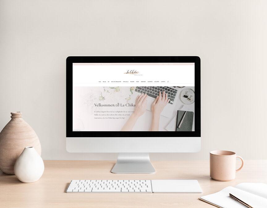 Lachika Magasin – Webdesign