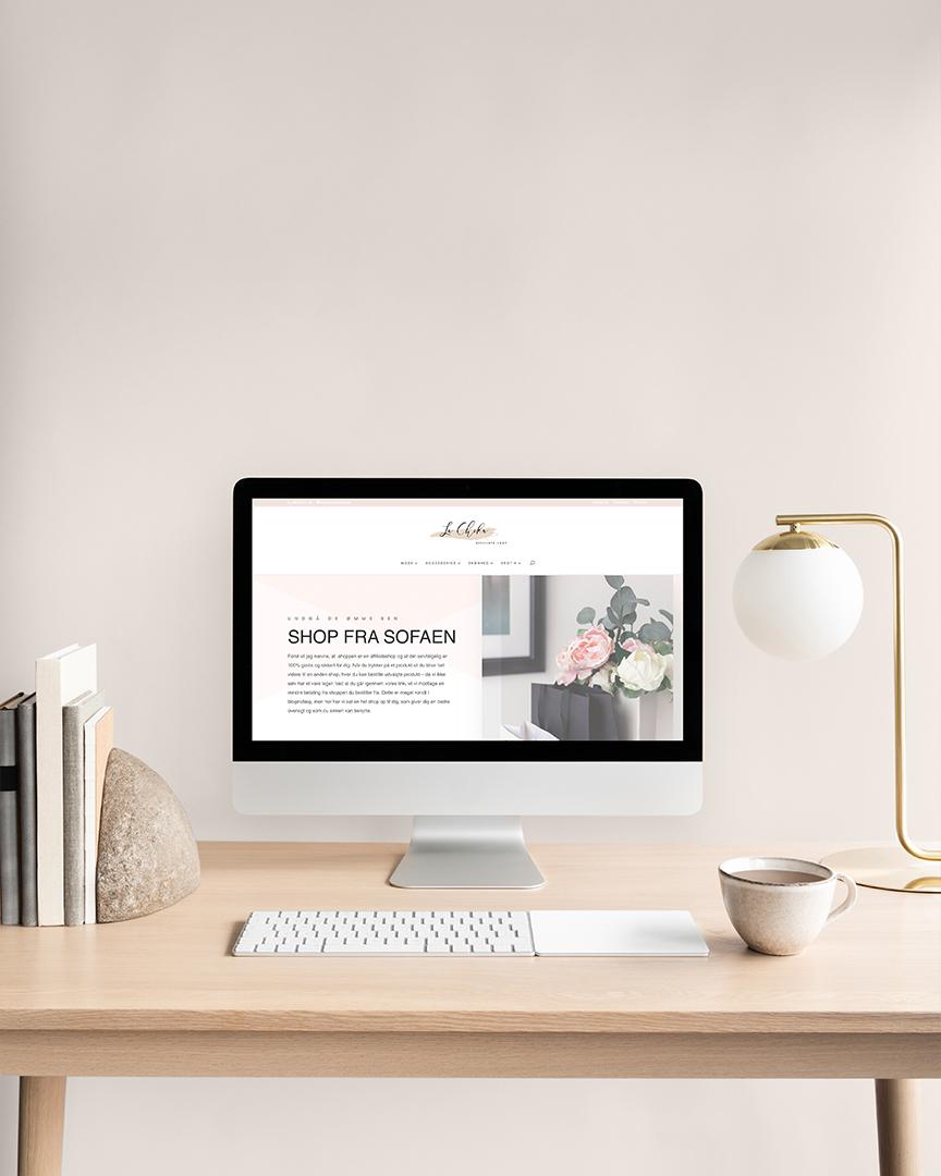 Lachika – Webdesign