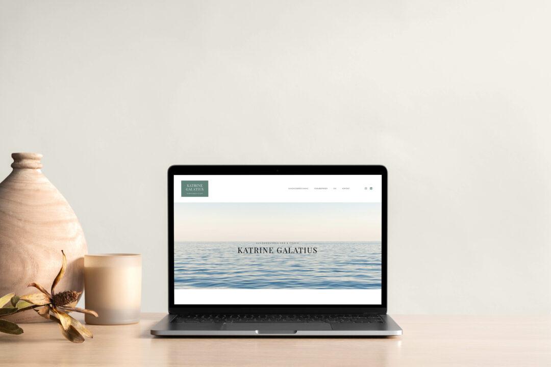 Katrine Galatius – Webdesign