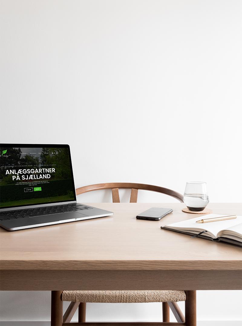 F. R. ANLÆG – Webdesign