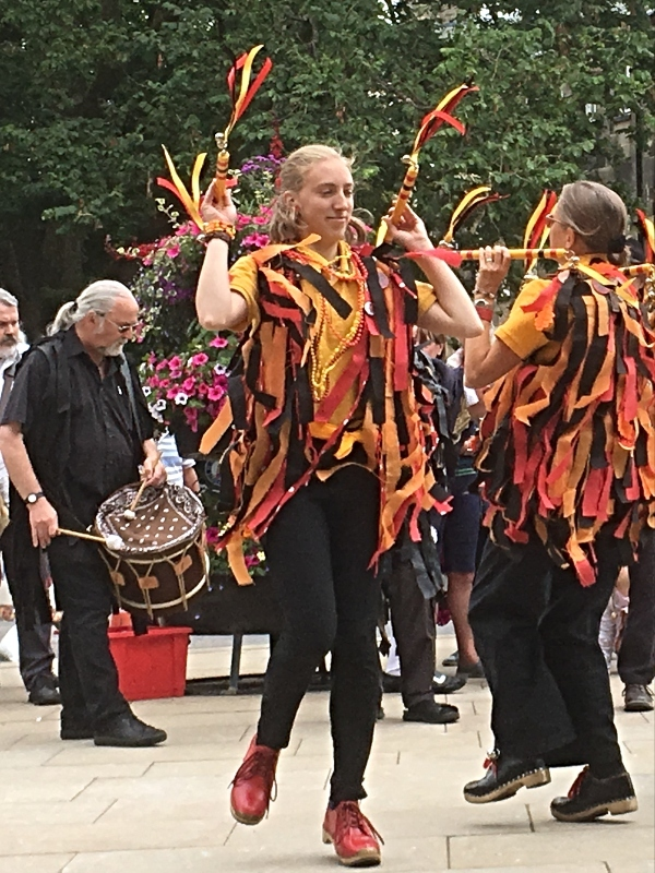 A dancer in Buxton