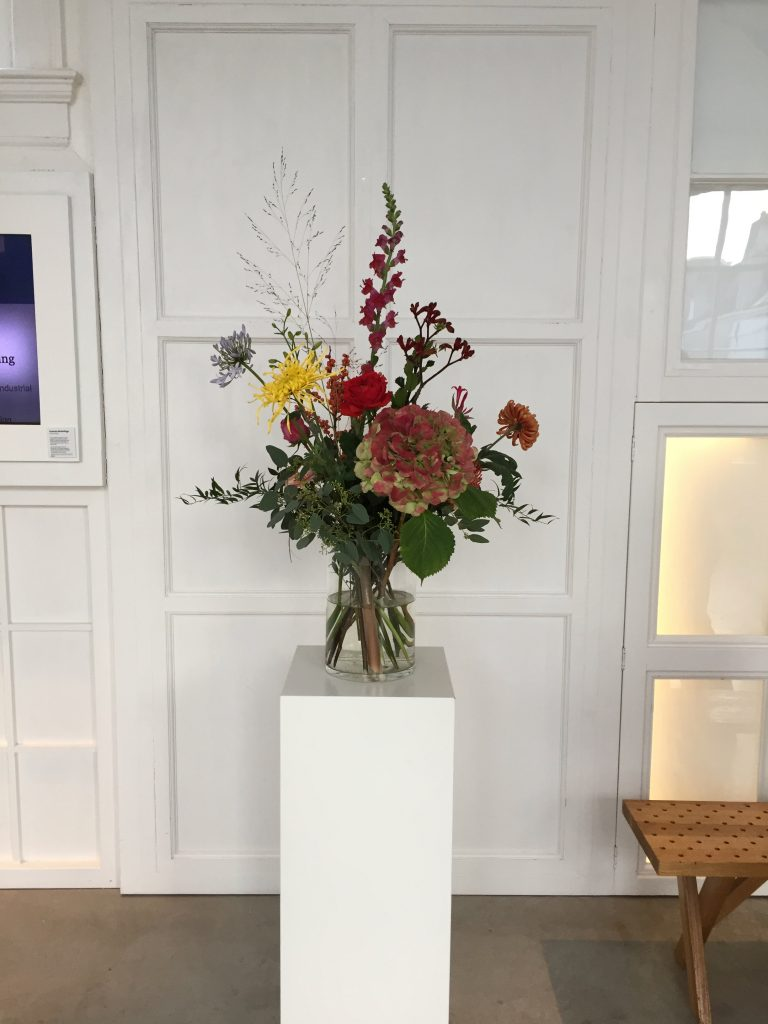 Prachtig boeket met bloemen